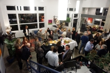 Artist Reception at Ledger Square Law