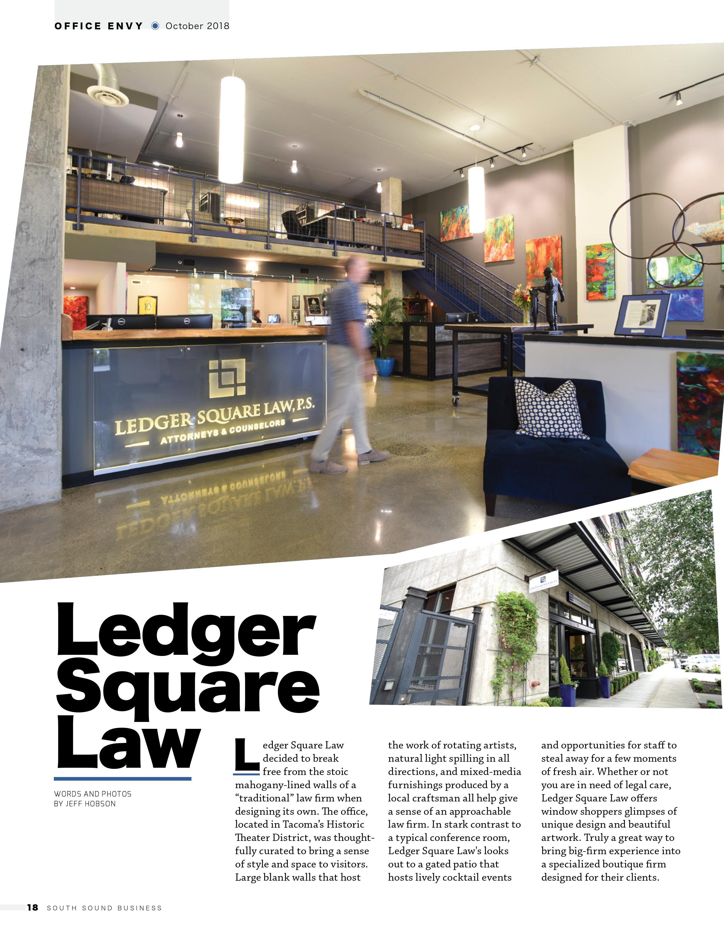Ledger Square Law